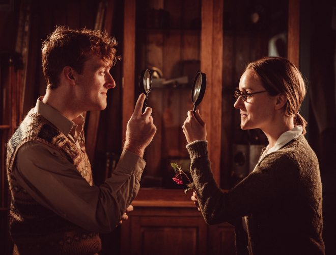 'A Perfect World' 'Ruth' played by Rose McPilemy and 'Timothy' played by Ben Kernow